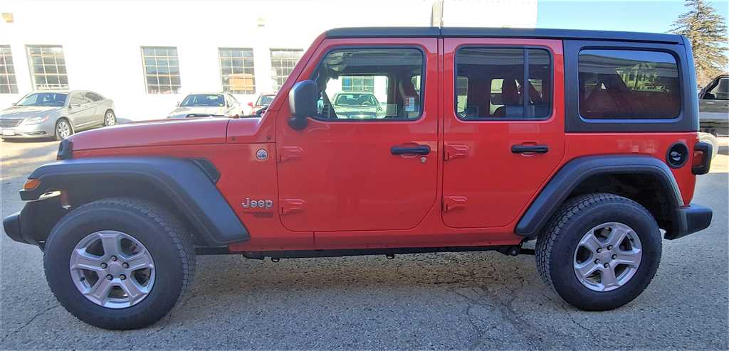 New 2019 Jeep Wrangler 4-Door Unlimited Sport