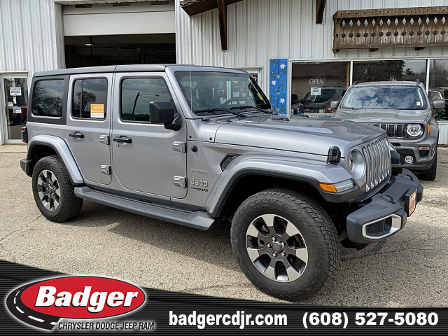 Pre-Owned 2018 Jeep Wrangler 4-Door Unlimited Sahara