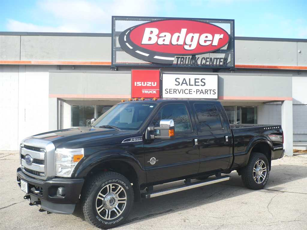 Pre owned 2014 ford f350 platinum