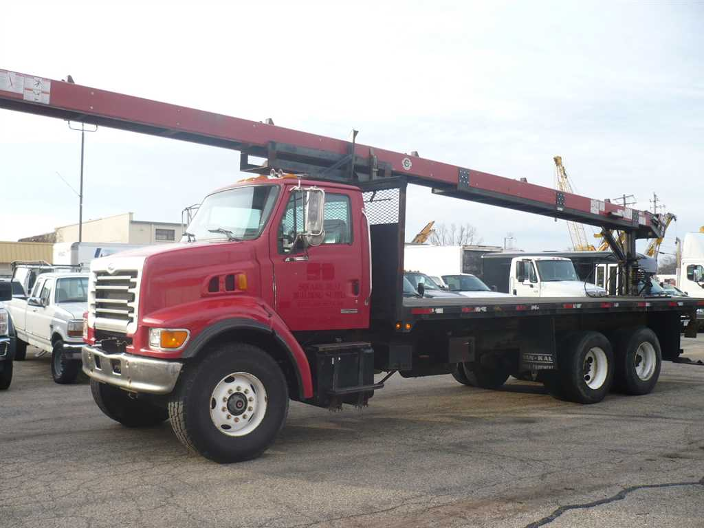 Used 2003 Sterling LT9511 Flatbed