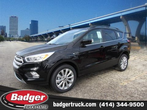 New 2019 Ford Escape Sel Suv Sedan Near Milwaukee 19860 Badger Truck Center