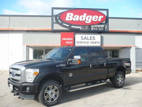 Pre-Owned 2014 Ford F350 Platinum